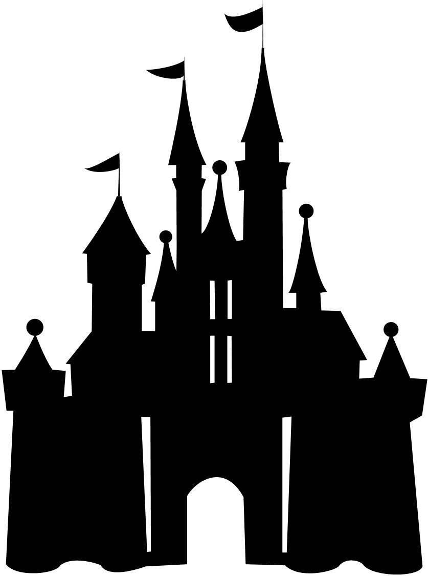 Disneyland Castle Silhouette   Clipart Panda   Free Clipart Images