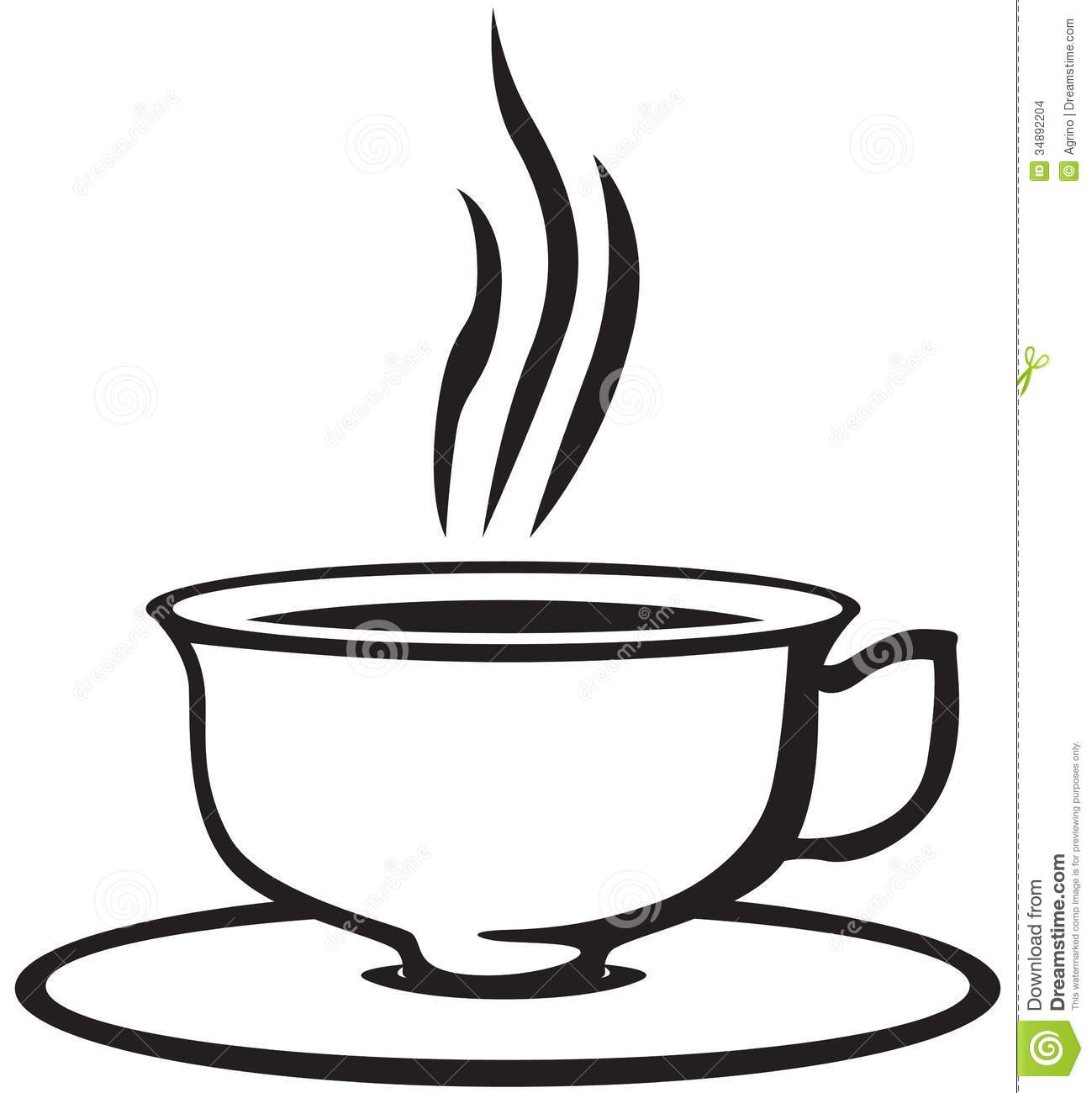 Fancy Tea Cup Clipart