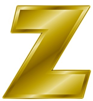 Free Gold Letter Z  Clipart   Free Clipart Graphics Images And Photos