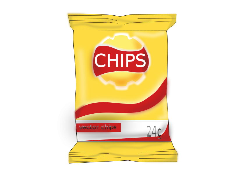 Free Potato Chips Clip Art