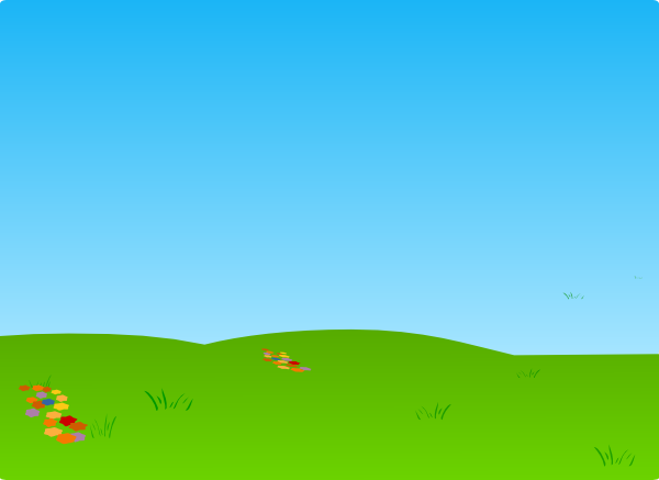 Fresh Grass And Sky Clip Art At Clker Com   Vector Clip Art Online