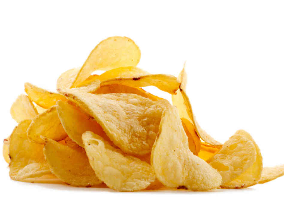Hide Caption A Dietician Says Chip Portion Size Is More Important Than