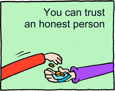 Honest Trust Clipart Honesty Is So Important The Bible Says That God