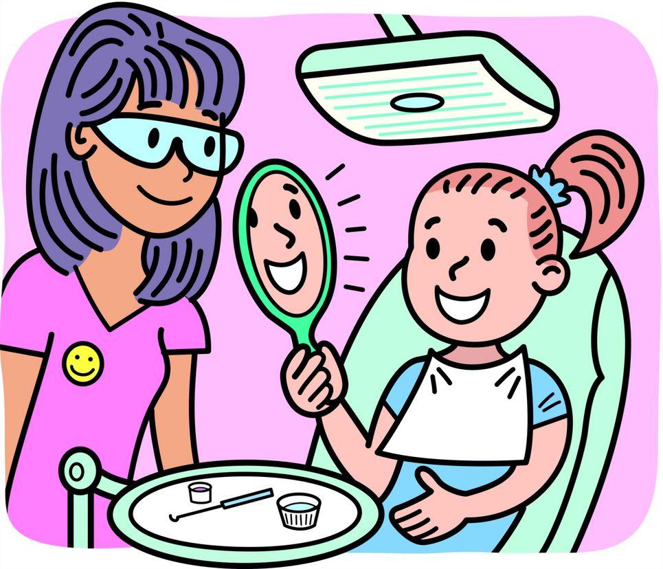 Dentist Cartoon Clipart - Clipart Kid
