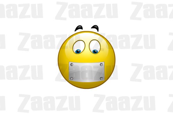 Image Gallery mouth zipped shut
