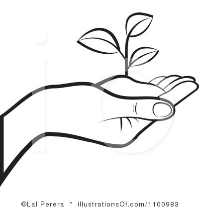 Plant Clipart Black And White   Clipart Panda   Free Clipart Images