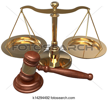 Scale Gavel Lawyer Justice Legal Attorney K14294492   Search Clipart