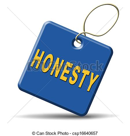 Stock Illustrations Of Honesty   Honest Honesty Leads A Long Way Find