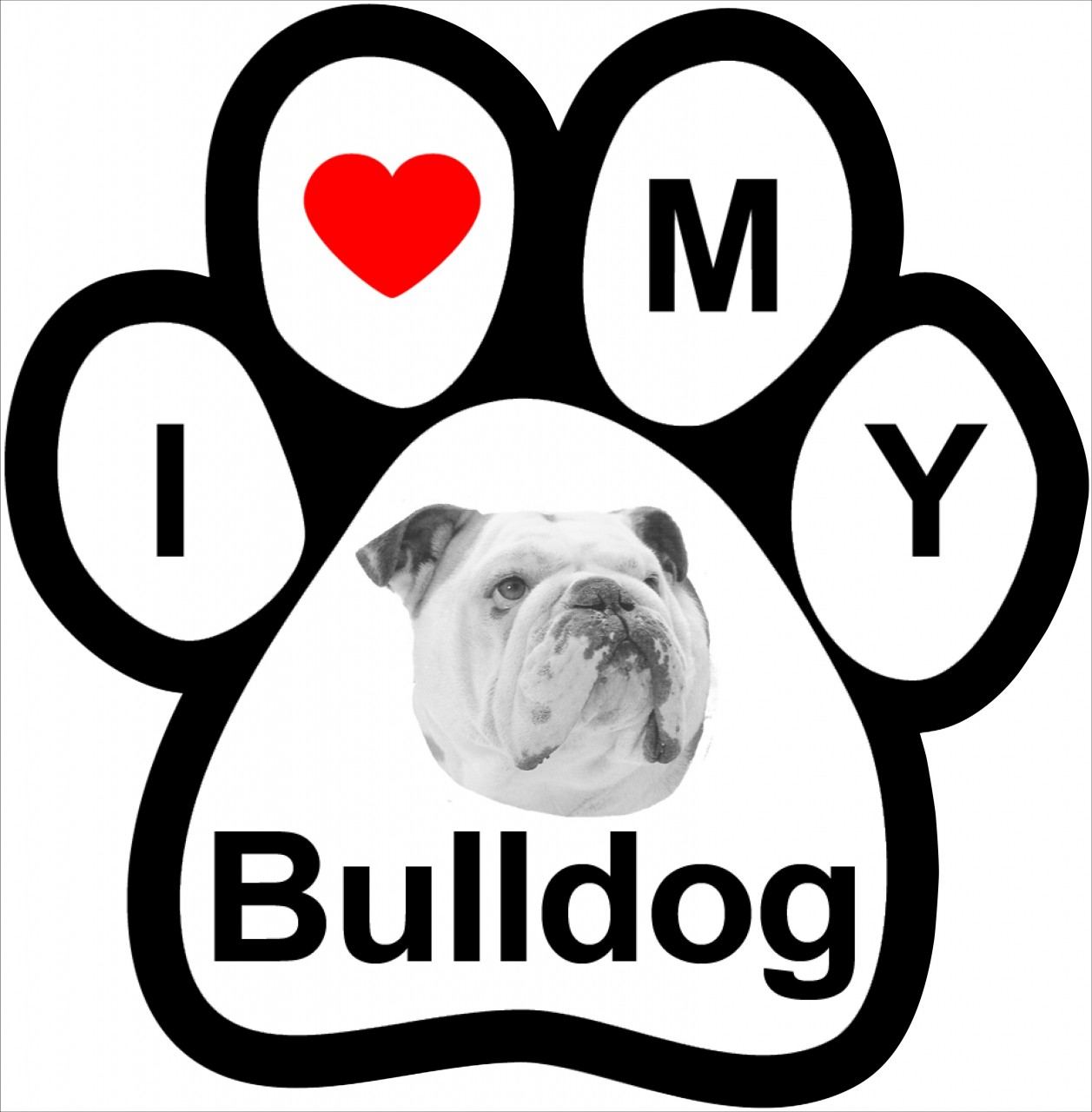 Bulldog Paw Prints   Free Cliparts That You Can Download To You