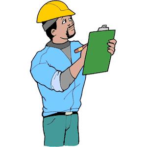 Cartoon Construction Worker Vector Clip Art   Jobspapa Com