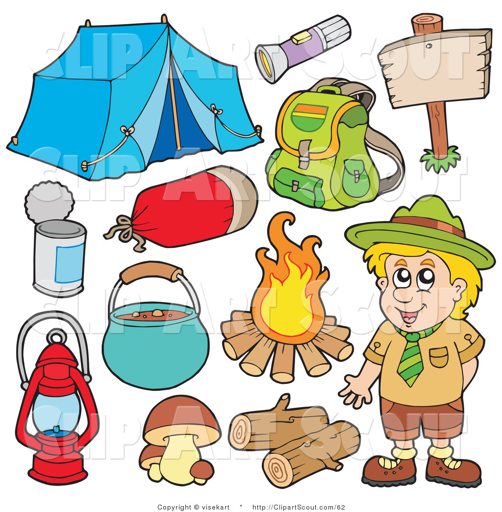 Scout Camping Clipart - Clipart Kid