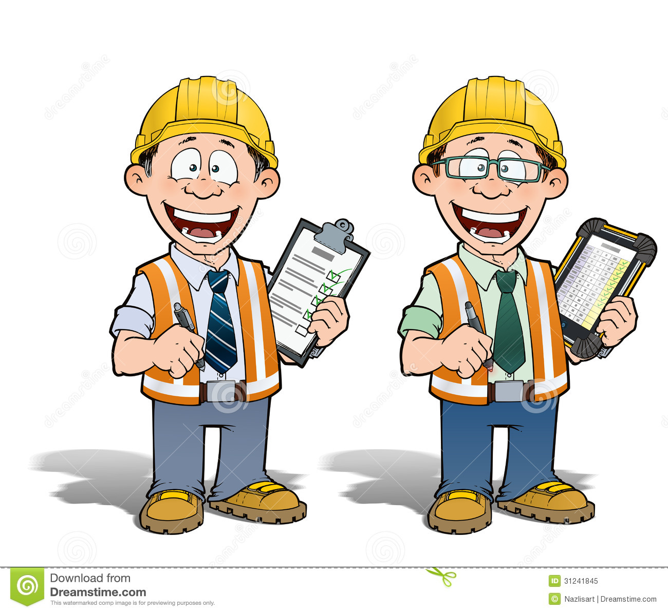 Construction Worker   Project Manager Royalty Free Stock Photo   Image