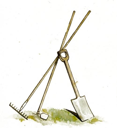 Garden tools clipart clipart suggest for Gardening tools description