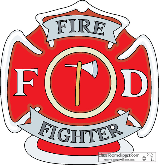 Firefighter Symbol Clipart - Clipart Kid