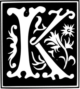 Free Decorative Letter K Clipart   Free Clipart Graphics Images And