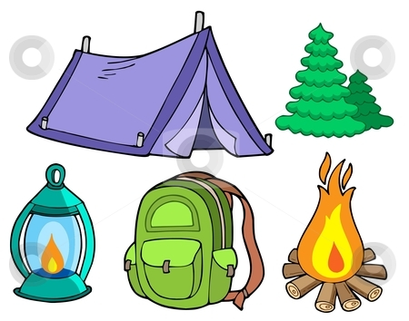 Girl Scout Camping Clipart Girl Scout Camping Cli...