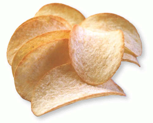 Potato Chip Clip Art Potato Chips Closeup