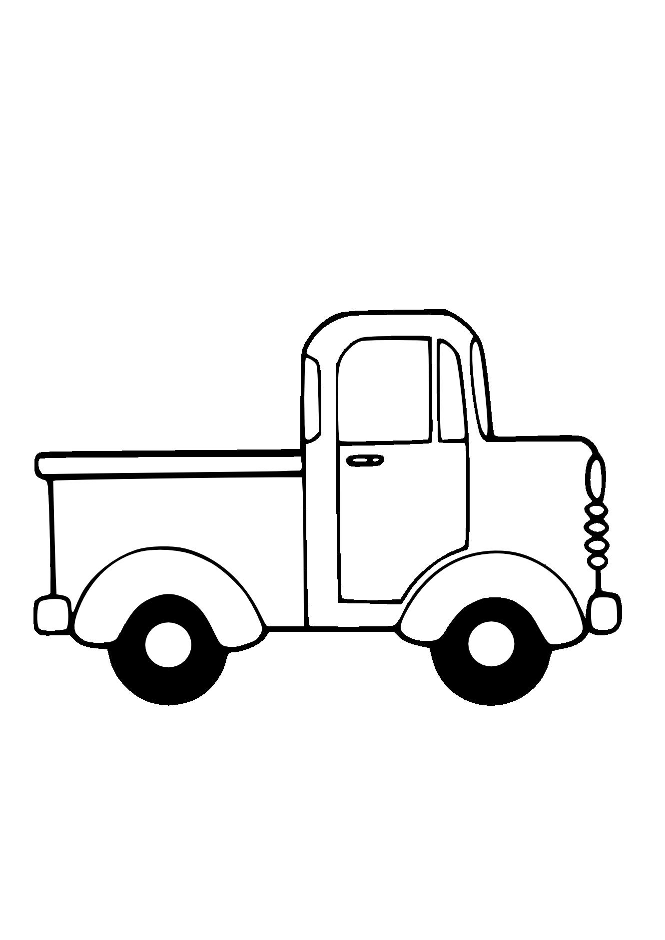 Clip Art Cartoon Farm Truck Clipart - Clipart Kid