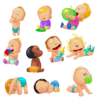 Shery K Designs  Free Cliparts   Babies