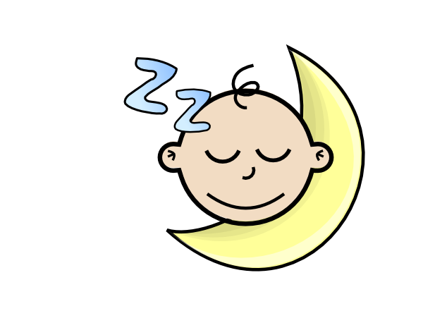 Sleeping Baby Clipart - Clipart Kid