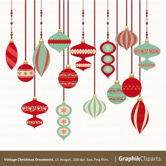 vintage chrismas ornaments
