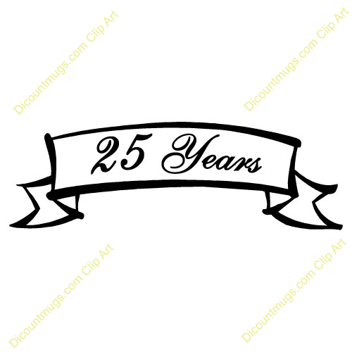 25th Anniversary Favors Anniversary Annual 25 Years 25th Anniversary