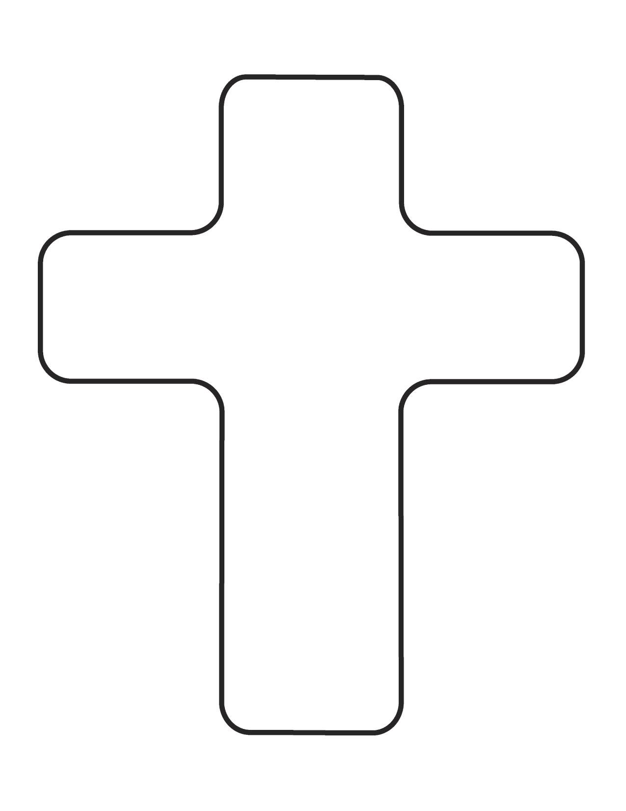 Plain Cross Clipart - Clipart Kid