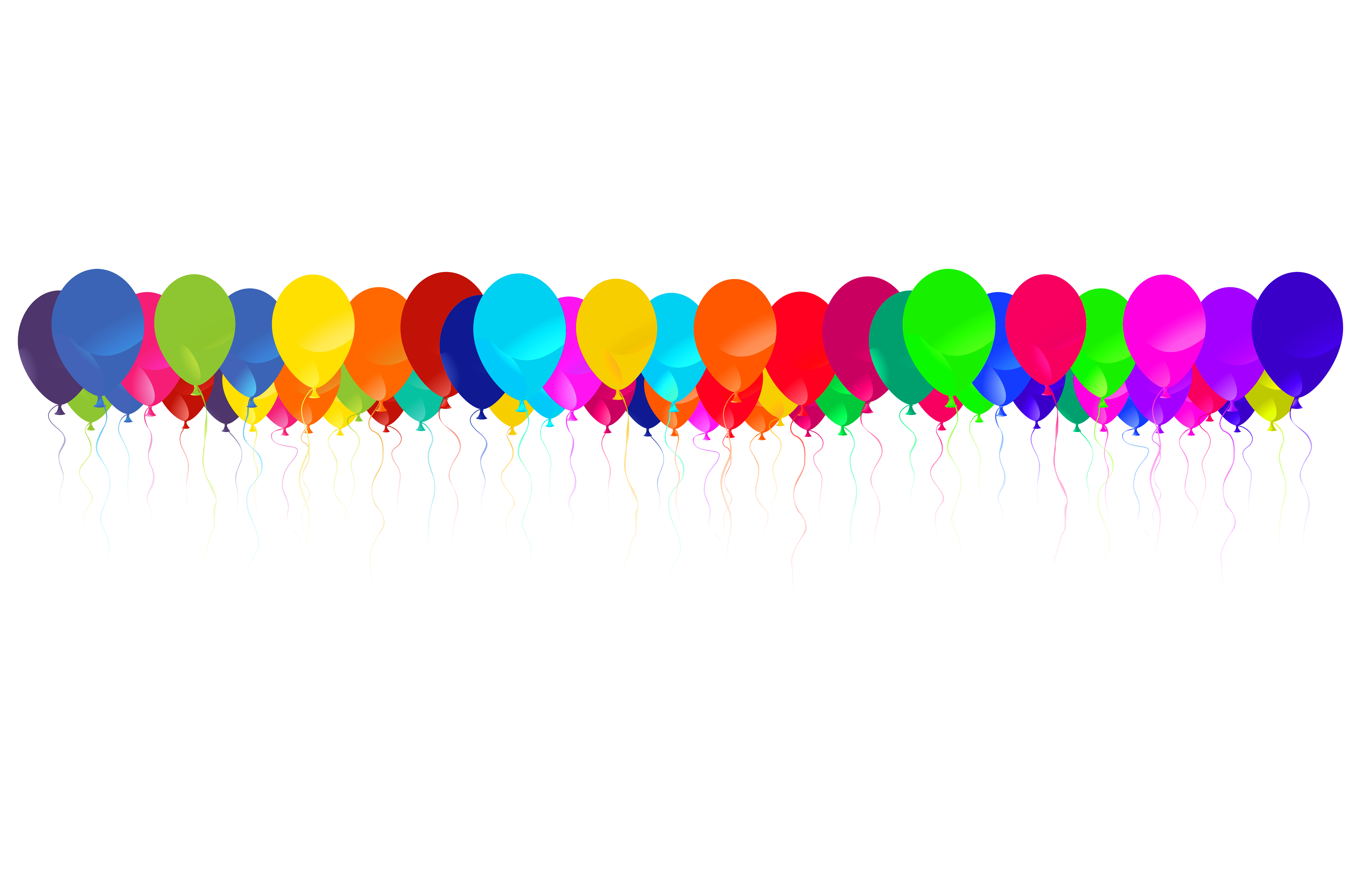 Balloon Border   Cliparts Co