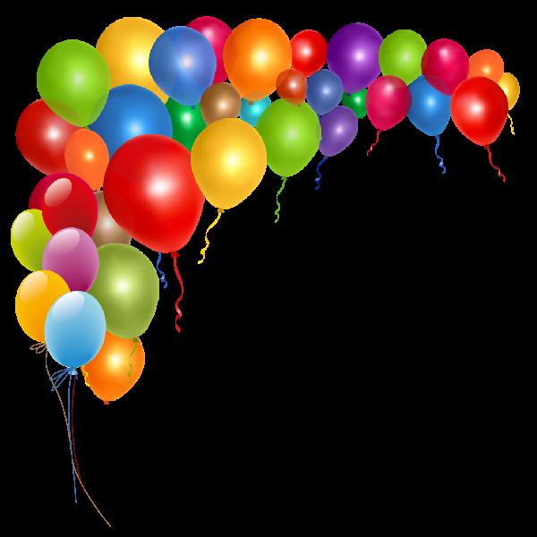 Balloon Border Clipart - Clipart Kid