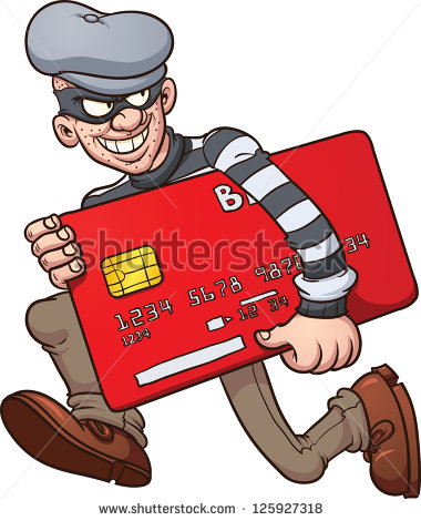 Credit Card Fraud Protection Clip Art