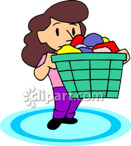 Clothes Basket Boy Clipart   Cliparthut   Free Clipart