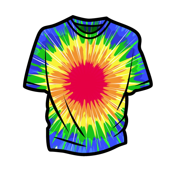 Create Vector Tie Dye Using Illustrator S Distort Effects   Envato