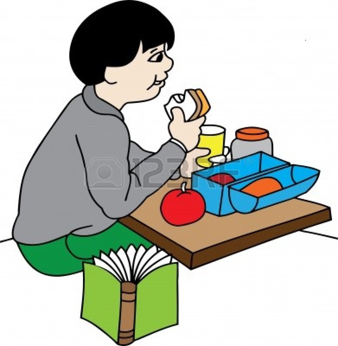 lunch break clipart clipart suggest Dinner Clip Art Sitting at Lunch Clip Art