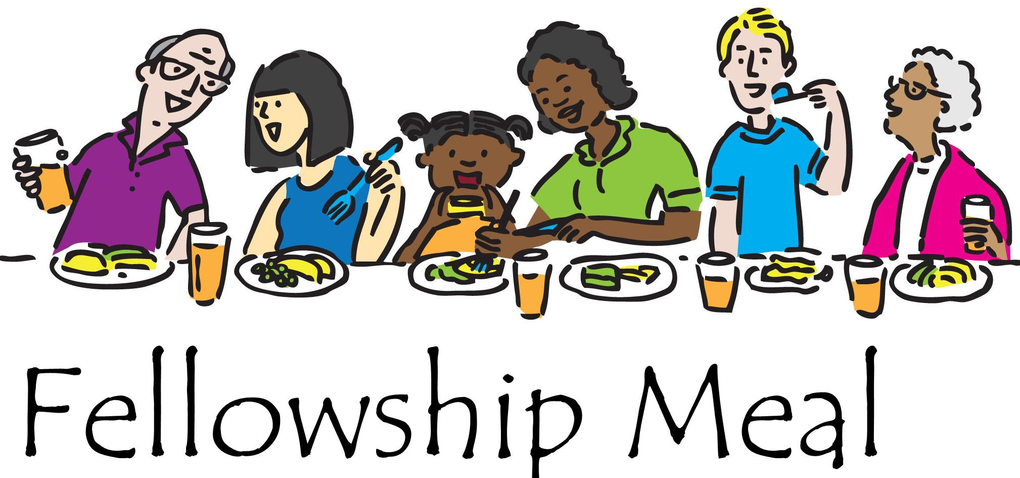 Fellowship Meals Planned Clipart
