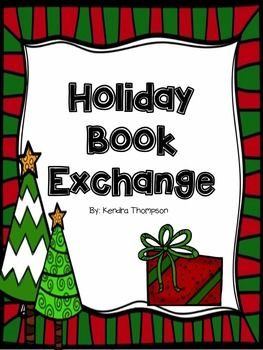 Holiday Book Exchange   School Stuff   Pinterest