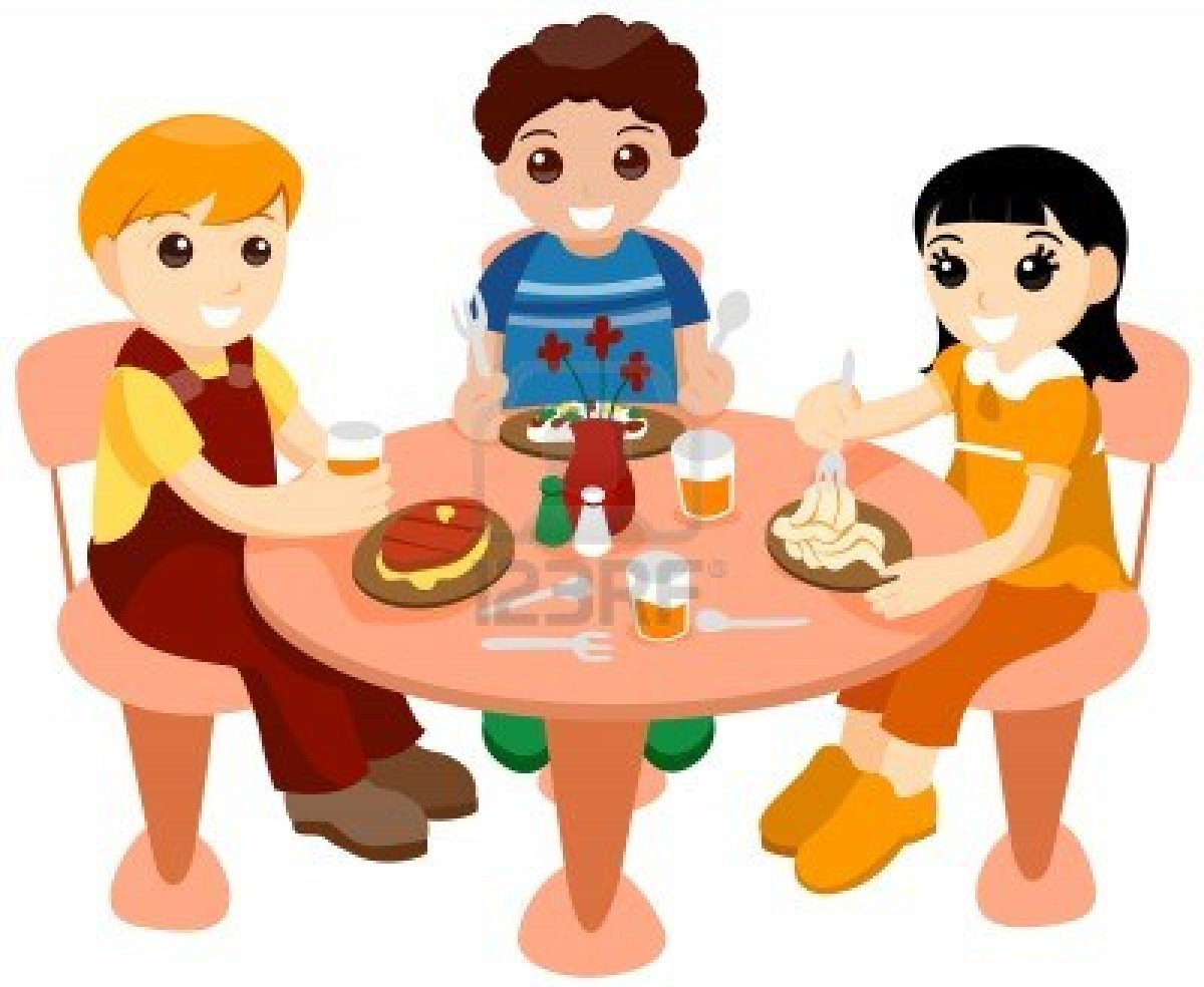 Clip Art Eating Lunch At School Clipart - Clipart Kid