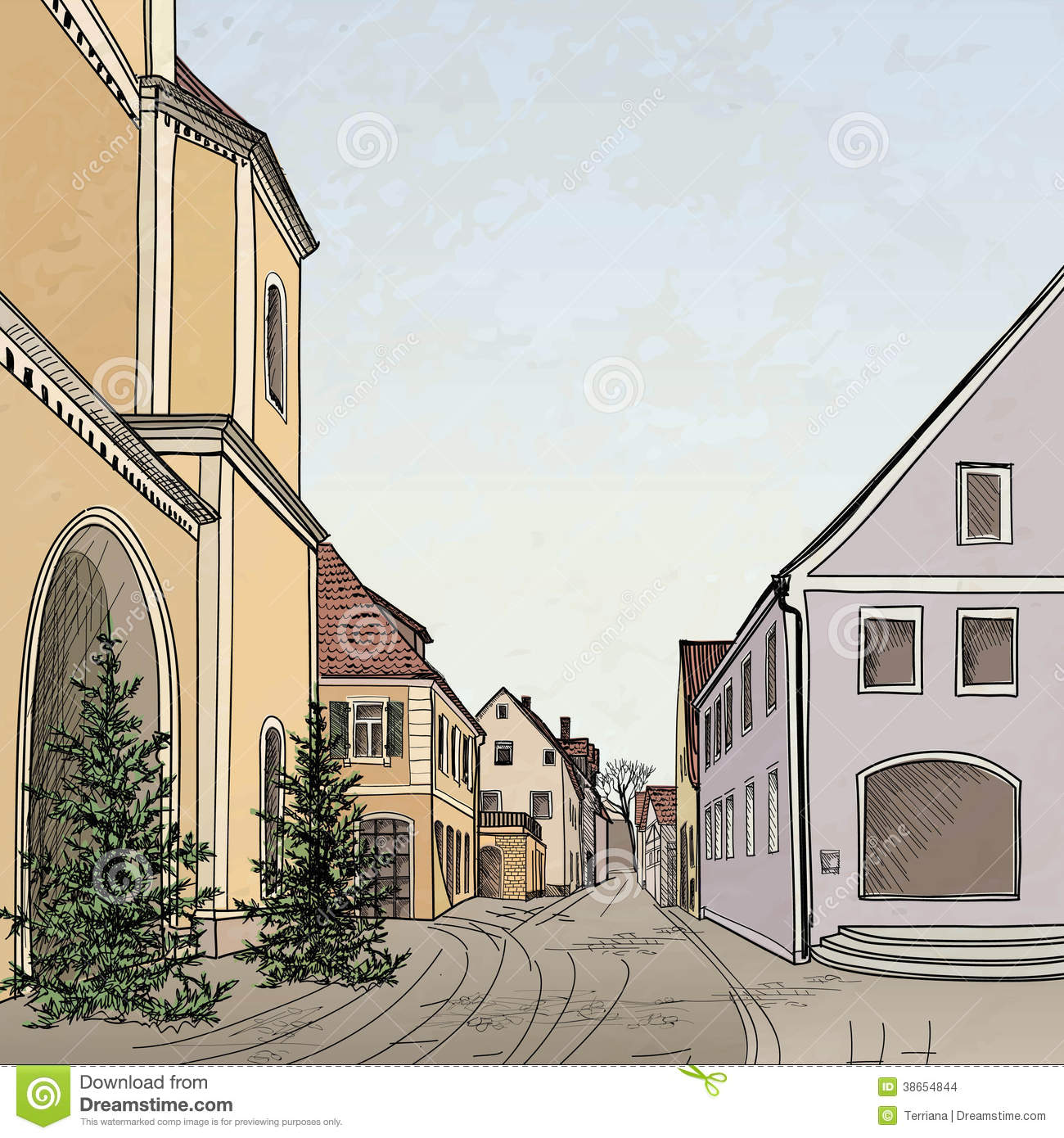 clip art city street - photo #26