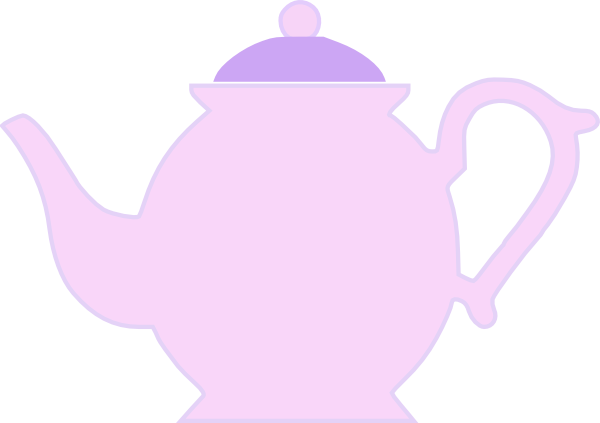 Purple Teapot Clip Art At Clker Com   Vector Clip Art Online Royalty