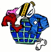 Put Dirty Clothes In Hamper   Chore Chart Clipart   Pinterest