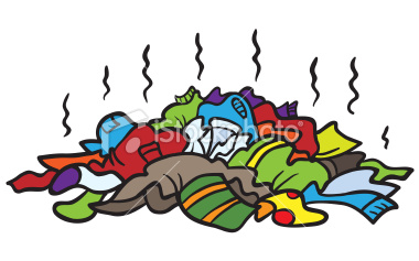 Stock Illustration 18037579 Pile Of Dirty Clothes