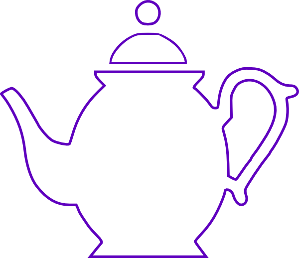Teapot Clip Art At Clker Com   Vector Clip Art Online Royalty Free