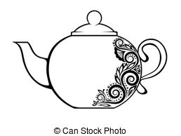 Teapot Clipart And Stock Illustrations  6715 Teapot Vector Eps