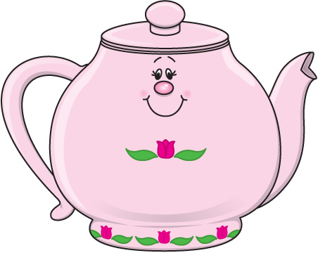 Teapot With Flowers Clipart   Cliparthut   Free Clipart