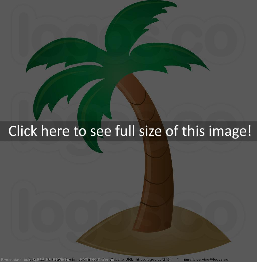 Beach Palm Tree Clip Art  Id  107365    Wallpho