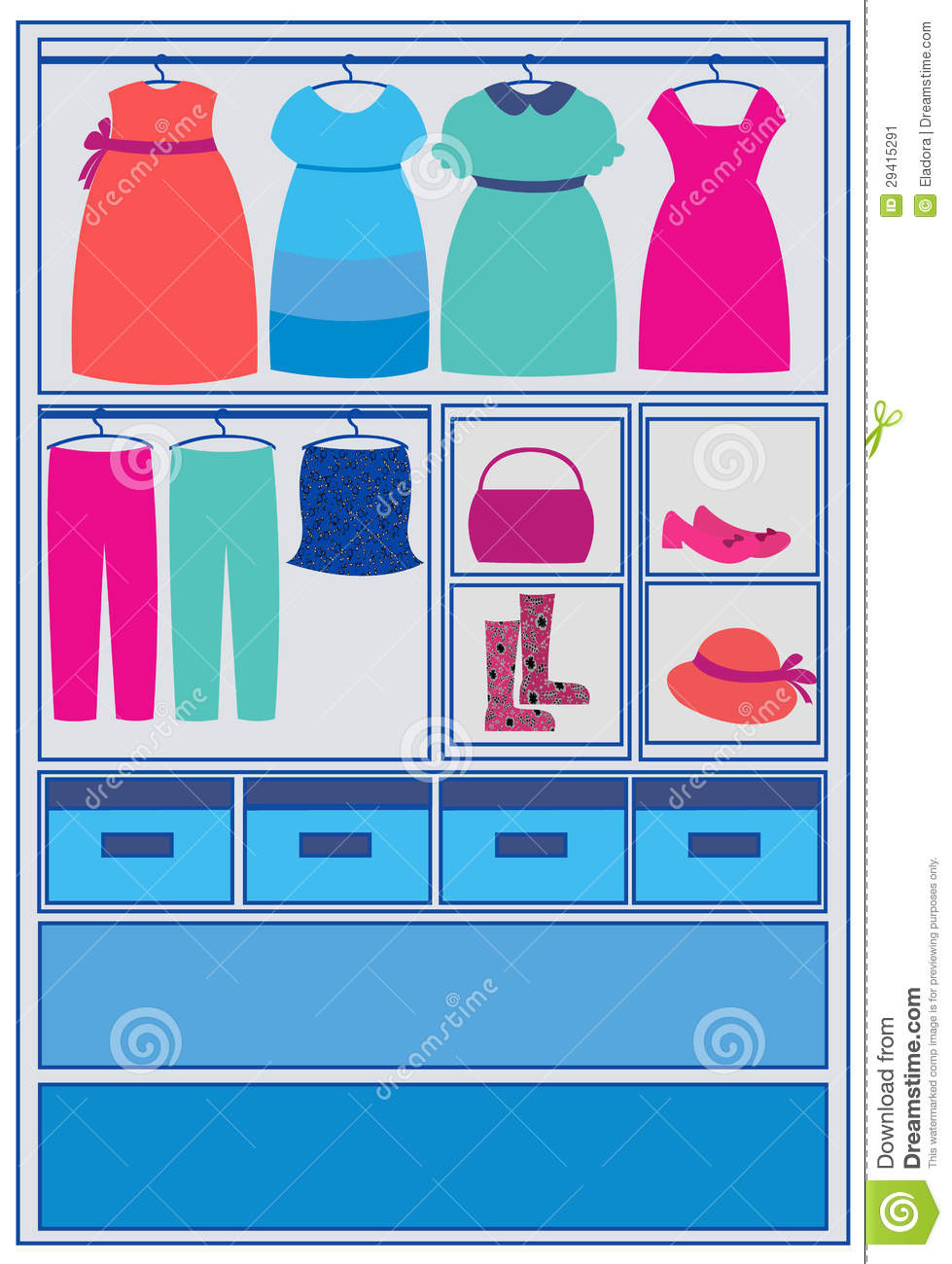 Clothes Closet Clipart Image Search Results