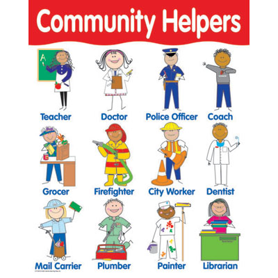 Image result for community helpers clipart