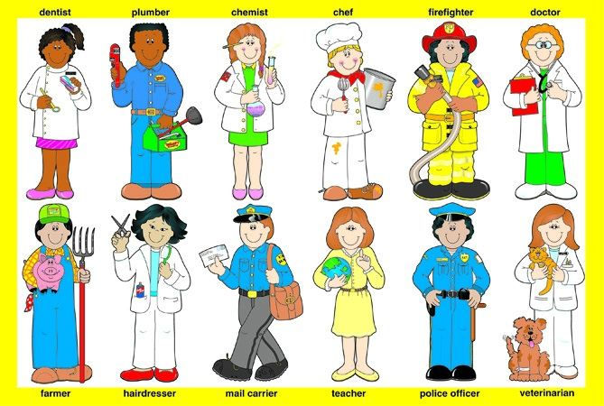 Clip Art Community Helpers Clip Art community workers clipart kid helpers such as firefighters police officers health