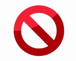 Do Not Symbol Clip Art At Clker Com   Vector Clip Art Online Royalty