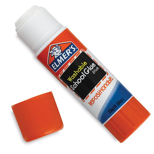 Elmer S Washable Repositionable Glue Sticks   Blick Art Materials