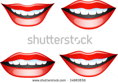 Mouth With Teeth Clipart 30310612493896601 Jpg
